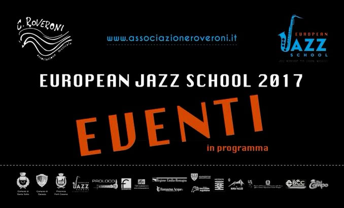 European Jazz School 2017 - EVENTI